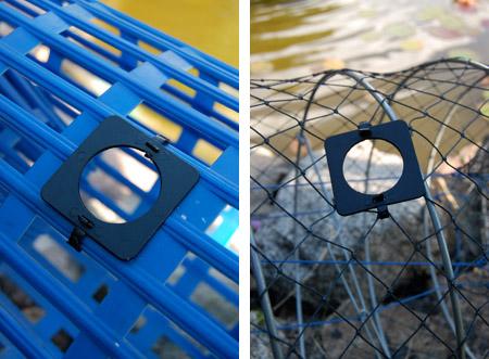 28 mm flyktöppning för kräftfiske 65 kr /12st