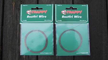 Trappy 19-trådig plastad wire